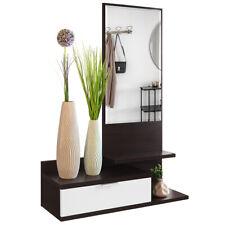 COMIFORT - Recibidor Entrada Colgante Moderno con Cajón y Espejo Colores pared