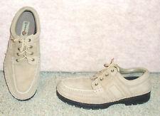 """Men's tan leather upper EARTH SHOE """" Park """" oxford shoes , sz 10.5"""
