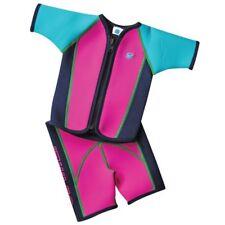 Splash About pour enfants Combinaison en néoprène veste et short rose taille 1 -