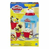 Play-Doh Kitchen Creations Popcorn Party Play Doh Dough Toy Playset 280g