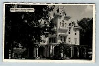 Chambersburg PA, Wilson College, Main Hall, Chrome, Pennsylvania Postcard