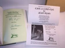 Alan Ryan Cast a Cold Eye Signed Deluxe Limited Numbered Ed 119/200 Slipcase HC