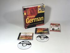 Everyday German Deluxe Edition 2 CDs & AA Essential Phrase Book