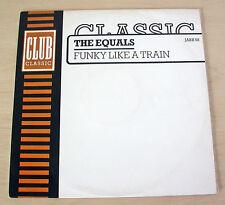 The Equals  – Funky Like A Train Club – JABX 58 - UK - 1986