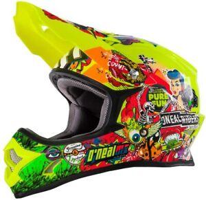 Oneal 3SRS Helmet Crank Hi-viz