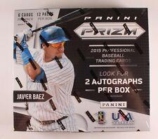 2015 Panini Prizm Baseball Hobby Box (2 AUTOS!)  - FACTORY SEALED!  AARON JUDGE