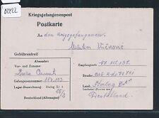 02422) KRIEGSGEFANGENENPOST STALAG XI A vieux. Grabow 1942 hauptl. > arbkdo