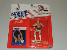 STARTING LINEUP LARRY BIRD 1988 NEW SEALED 33 BOSTON CELTICS CARD GREEN