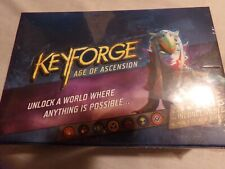 Keyforge Age of Ascension Deck Display. 12 Decks SEALED