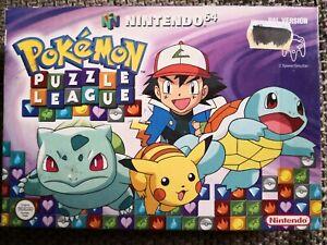 Pokémon Puzzle League Nintendo 64 N64 PAL NEU in OVP und Anleitung Einkaufgp