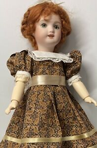 Bleuette: Dress In Beautiful Golden Autumn Colors With Pin-tucked Bloomers