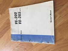 CUMMINS V6 V8 200 265 300 240  MAINTANCE OPERATION MANUAL ENGINE DIESEL