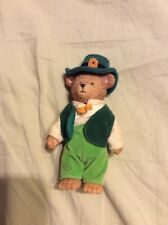 St Patrick's Day Teddy Bear Luck Of The Irish Figurine