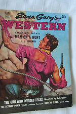 VGUC  Jan. 1953 Zane Grey's Western  Magazine