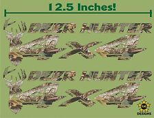 4x4 Decals Dodge Dakota, Ram Sticker (Set of 2) OAK CAMOUFLAGE, Deer Hunter