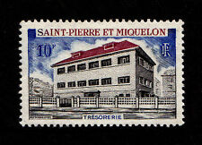 ST PIERRE MIQUELON - Scott 385 - 1969 Treasury Building - MNH