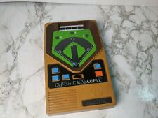 2001 Genuine Mattel Classic Baseball Game Handheld Electronic TESTED WORKING!