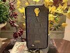 BRAHMIN~Samsung Galaxy S3 Phone Case-Taupe/Tan Croc Leather~NEW~NIP~FREE SHIP~