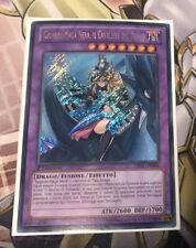 Dark Magician Girl the Dragon Knight - Italian DRLG-EN004 IT004 Secret Rare 1st