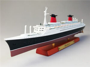 1/1250  France Cruise Ship Complete Model Collectiable ATLAS Diecast Boat Toys