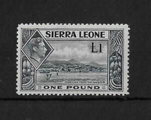 (16) Sierra Leone 1938 £1 Freetown SG200 Cat£21