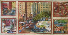 Quilting Treasures ~ CITY SCAPES Photo Panels ~ 100% Cotton Quilt Fabric Panels