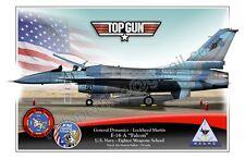 F-16 Top Gun -  Poster Profile