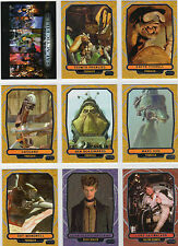 2013 Star wars galactic Files series 2 Mini Master card set,inserts,poster,box+