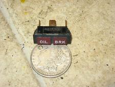 95 POLARIS INDY 600 XLT RMK OIL BRAKE LIGHT INDICATOR