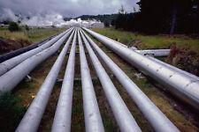 799041 vapeur tuyaux à wairakei la centrale géothermique Nouvelle-Zélande A4 Photo