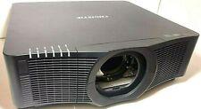 Christie LWU701i BLACK LCD Projector HDMI 3LCD single -Lamp Digital Projector.