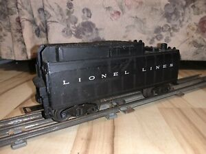 Lionel Electric Trains Postwar 6026 Whistle Tender, C-5.  Tested.