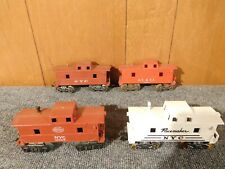 Lot of Vintage Marx O Scale Cabooses 1977 18326 NYC AT&SF