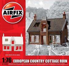 Airfix European country Cottage ruina landhaus ruina resin 1:76 Art. a75004