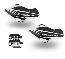 PowerMadd SENTINEL Handguard Guards KIT White/Black Yamaha Raptor 700 34408