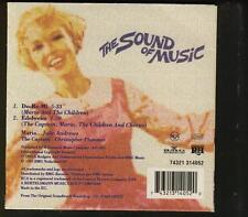 JULIE ANDREWS Do-Re-Mi & Edelweiss 2 TR CARDslv CD THE SOUND OF MUSIC