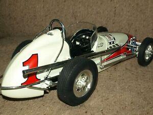GMP 1:12 A J FOYT INDY 500 WINNER vintage 1962 Dirt Champ Bowes Spl race car #1