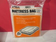 """Uhaul 2 Mil Mattress Bag Full Size 87'' x 54'' x 10"""" Dust Bug Waterproof New"""