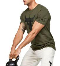 Under Armour Project Rock Brahma Bull Tee Rock T-Shirt Large L Green 1351582-315