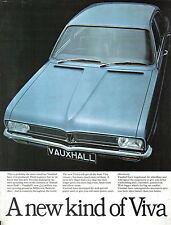 Vauxhall Viva HC Standard De Luxe SL 1970-71 Original UK Launch Brochure V1974