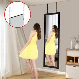 110cm 3.6FT Long Wall Mirror Leaner Floor&Door Bedroom Hanging Dress Full Length