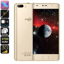 "Allcall Rio Smartphone Android 7.0 Dual IMEI 3G OTG CPU Quad-Core 5"" HD Gold"