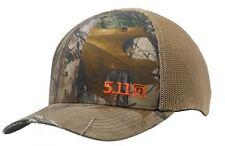 5.11 Tactical Real Tree Camo X-TRA Mesh Cap M/L Hunting Shooting Operator Hat