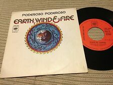 "EARTH WIND & FIRE SPANISH 7"" SINGLE SPAIN MIGHTY MIGHTY - FUNK"