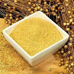 Goldleinsamenmehl Leinsamenmehl Paleo Vegan Proteinreich Low Carb 1000g