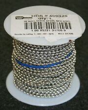 Roll / Spool of #6 Ball Chain, Lucky Line # 409326