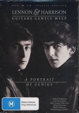 Lennon And Harrison Guitar Gently Weeps Portrait of Genius DVD CD Special Ed NEW