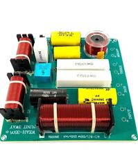 300W 3 Way Treble Mediant Bass Speaker Frequency Divider Crossover Filter DIY