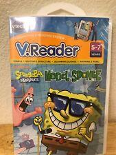 V. Reader VTech Game SpongeBob Model Sponge Kids Reading Education School *NEW*