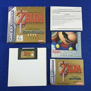 Gameboy Advance ZELDA Link to the Past Four Swords *x AUS Version Legend of GBA